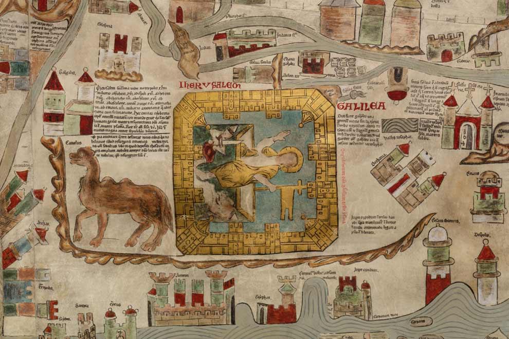 ebstorfer weltkarte beschreibung museum lüneburg | Vortrag (2019): Jerusalems Stadtbild im
